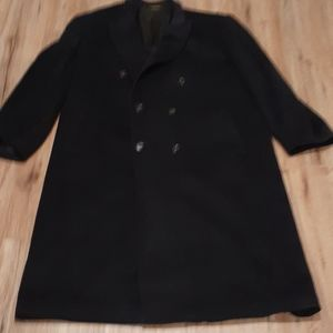 Men Executive Long Cashmere & Wool Coat. 52L
